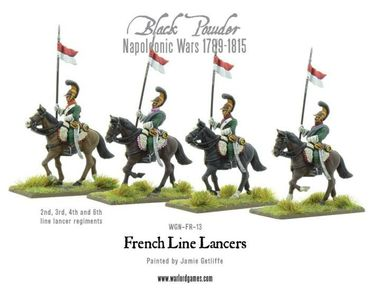 Napoleonic French Line Lancers 28mm – Bild 2