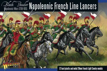 Napoleonic French Line Lancers 28mm – Bild 1