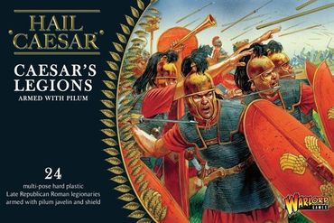 Caesarian Romans with Pilum 28mm – Bild 1