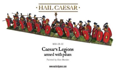Caesarian Romans with Pilum 28mm – Bild 2