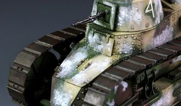 Meng French FT-17 Light Tank (Cast Turret) 1/35 – Bild 4