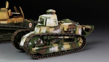Meng French FT-17 Light Tank (Cast Turret) 1/35 – Bild 2