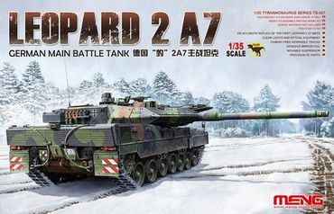 Meng German Main Battle Tank Leopard 2 A7 1/35