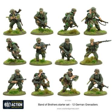Bolt Action 2 Starter Set Band of Brothers 28mm (Englisch) – Bild 3
