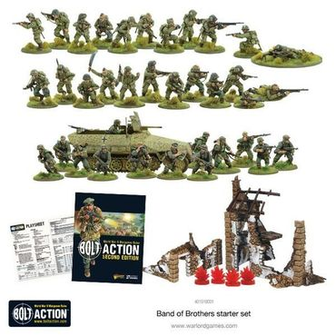 Bolt Action 2 Starter Set Band of Brothers 28mm (Englisch) – Bild 2