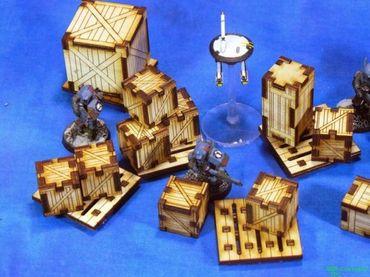 Kleine Kisten und Paletten Set – Bild 2