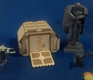 3x SciFi Storage Container – Bild 3