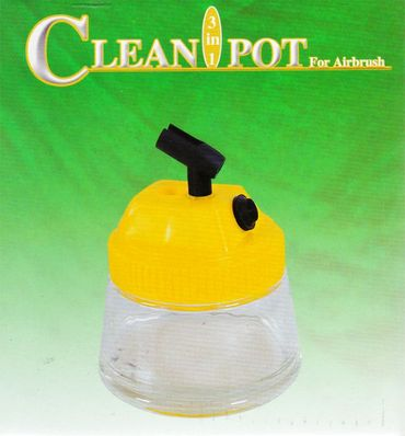 Airbrush Reinigungs Pod Cleaning Pot 3in1 – Bild 2