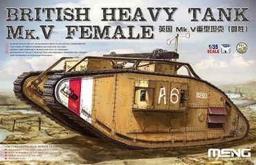 Meng British Heavy Tank Mk.V Female 1/35 – Bild 1