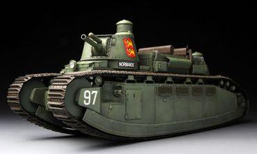 Meng French Super Heavy Tank Char 2C 1/35 – Bild 2