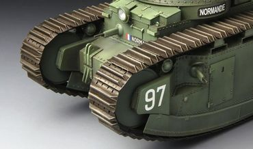 Meng French Super Heavy Tank Char 2C 1/35 – Bild 7