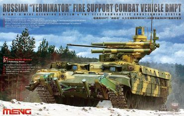 Meng BMPT Russian Terminator Fire Support Combat Vehicle 1/35