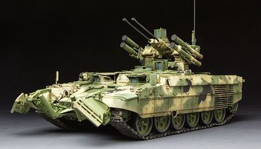Meng BMPT Russian Terminator Fire Support Combat Vehicle 1/35 – Bild 2
