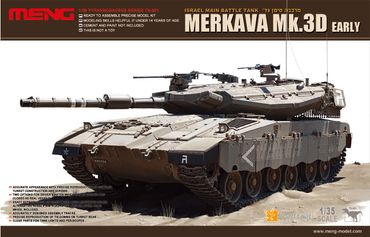 Meng Israel Main Battel Tank Merkava Mk.3D Early 1/35
