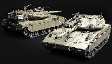 Meng Israel Main Battel Tank Merkava Mk.3D Early 1/35 – Bild 2