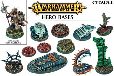 Age of Sigmar Hero Bases Round Bases (11 Bases)