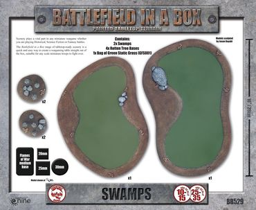 Battlefield in a Box Swamps – Bild 2