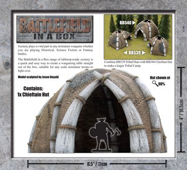 Battlefield in a Box Chieftans Hut – Bild 2