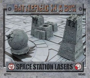 Battlefield in a Box Space Station Lasers – Bild 1