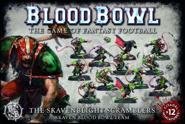 Blood Bowl - Skavenblight Scramblers Team