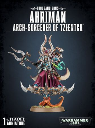 Thousand Sons Ahriman Arch Sorcerer of Tzenntch