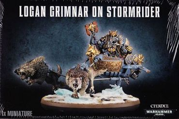 Space Wolves Logan Grimnar on Stormrider [GW WEB EXKLUSIV]