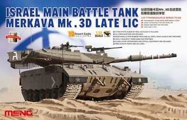 Meng Israel Main Battle Tank Merkava Mk.3D Late Lic 1/35 – Bild 1