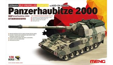 Meng German Panzerhaubitze 2000 Self-Propelled 1/35