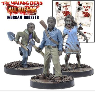 The Walking Dead Morgan Booster (Englisch) All Out War – Bild 1