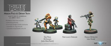 Dire Foes Mission Pack 6: Defiant Truth (Yu Jing vs Haqqislam) – Bild 1