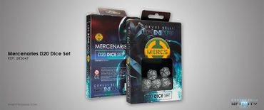 Mercenaries D20 Dice Set (5)