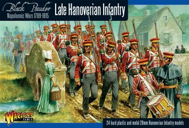 Napoleonic Hanoverian Line Infantry Regiment 28mm – Bild 1
