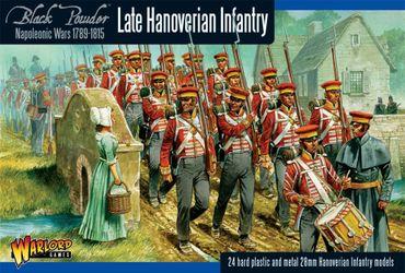 Napoleonic Hanoverian Line Infantry Regiment 28mm – Bild 1