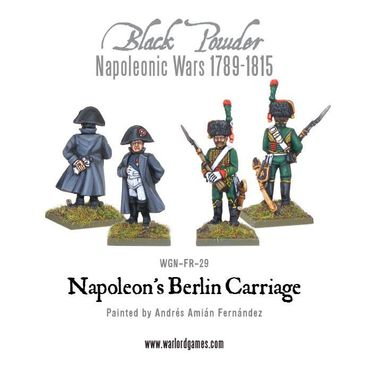 Napoleon's Berlin Carriage 28mm – Bild 2