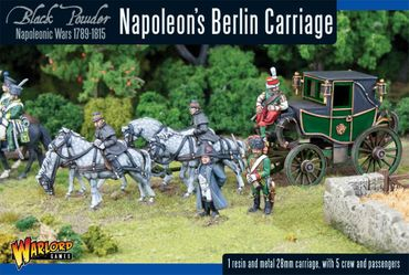 Napoleon's Berlin Carriage 28mm – Bild 1