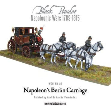Napoleon's Berlin Carriage 28mm – Bild 4