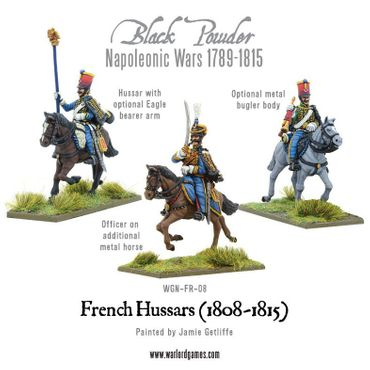 Napoleonic French Hussars 28mm – Bild 4