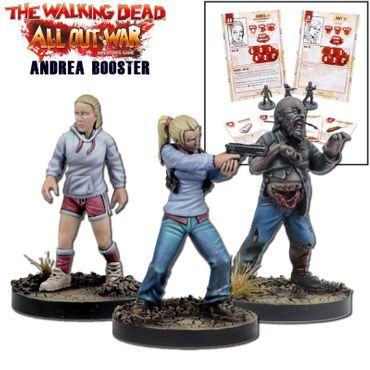 The Walking Dead Andrea Booster (Englisch) All Out War – Bild 1