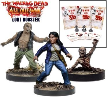The Walking Dead Lori Booster (Englisch) All Out War – Bild 1