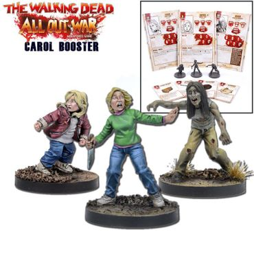 The Walking Dead Carol Booster (Englisch) All Out War
