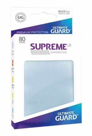 Supreme UX Sleeves Standard Transparent 80 – Bild 1