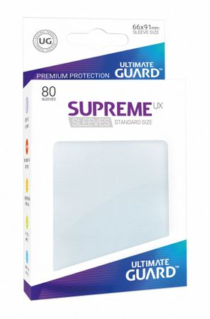 Supreme UX Sleeves Standard Frosted 80 – Bild 1