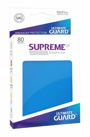 Supreme UX Sleeves Standard Royal Blue 80 – Bild 1