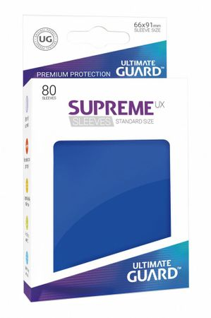 Supreme UX Sleeves Standard Blue 80 – Bild 1