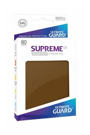 Supreme UX Sleeves Standard Brown 80
