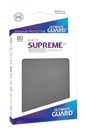 Supreme UX Sleeves Standard Matte Dark Grey 80 – Bild 1