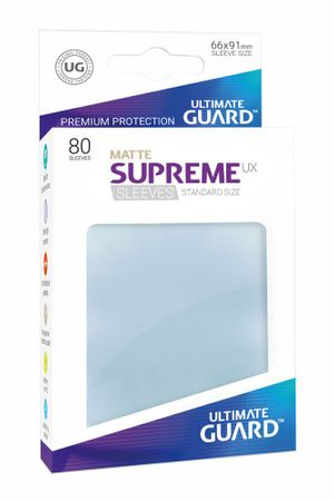 Supreme UX Sleeves Standard Matte Transparent 80 – Bild 1