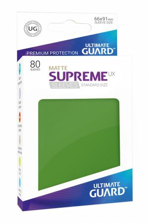 Supreme UX Sleeves Standard Matte Green 80