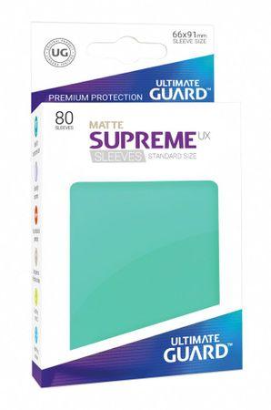 Supreme UX Sleeves Standard Matte Turquoise 80 – Bild 1