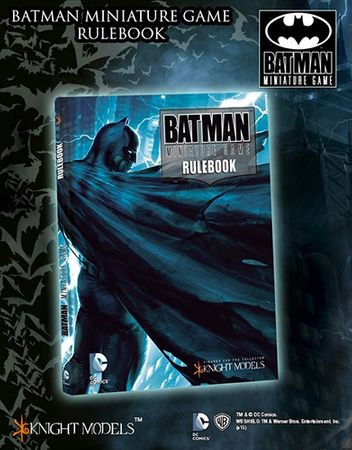 BMG Batman Cover Rulebook (Englisch) + Alfred Pennyworth Miniature – Bild 2